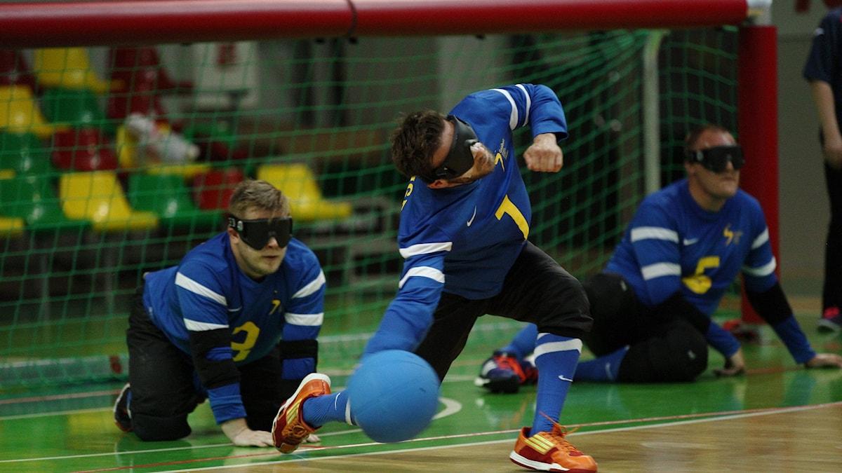 Goalboll. Foto: Parasportförbundet