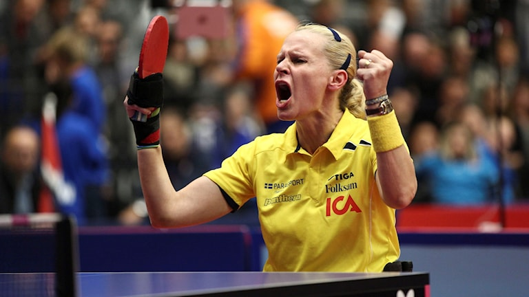 Anna-Carin Ahlquist took table tennis gold in 2012. Photo: Photo: Karl Nilsson/TT