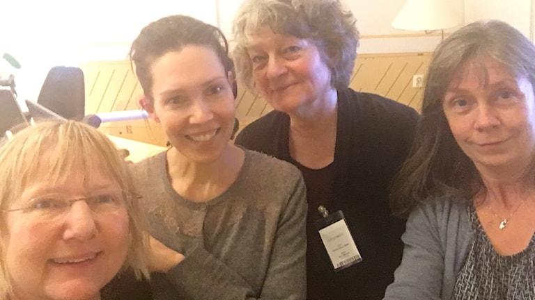 Susanne Palme, Caroline Salzinger, Annika Ström Melin, Nina Benner