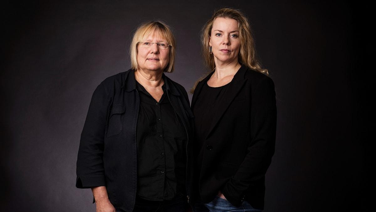 Susanne Palme och Ci Holmgren