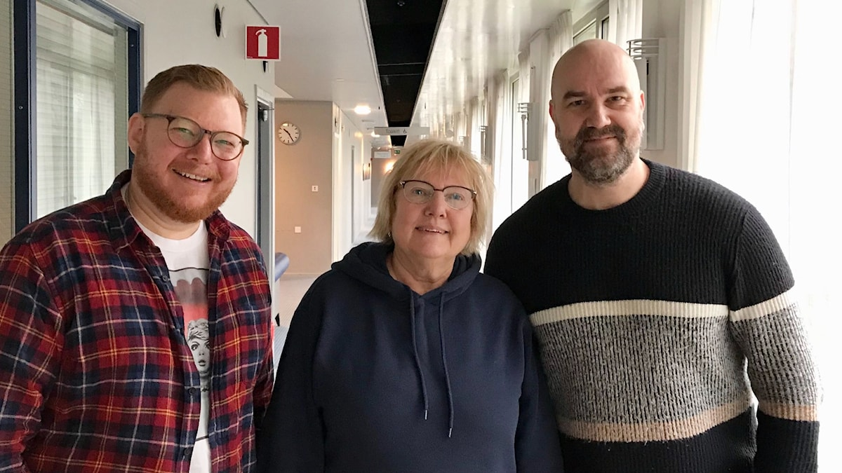 Kris Boswell, Susanne Palme och Claes Aronsson.