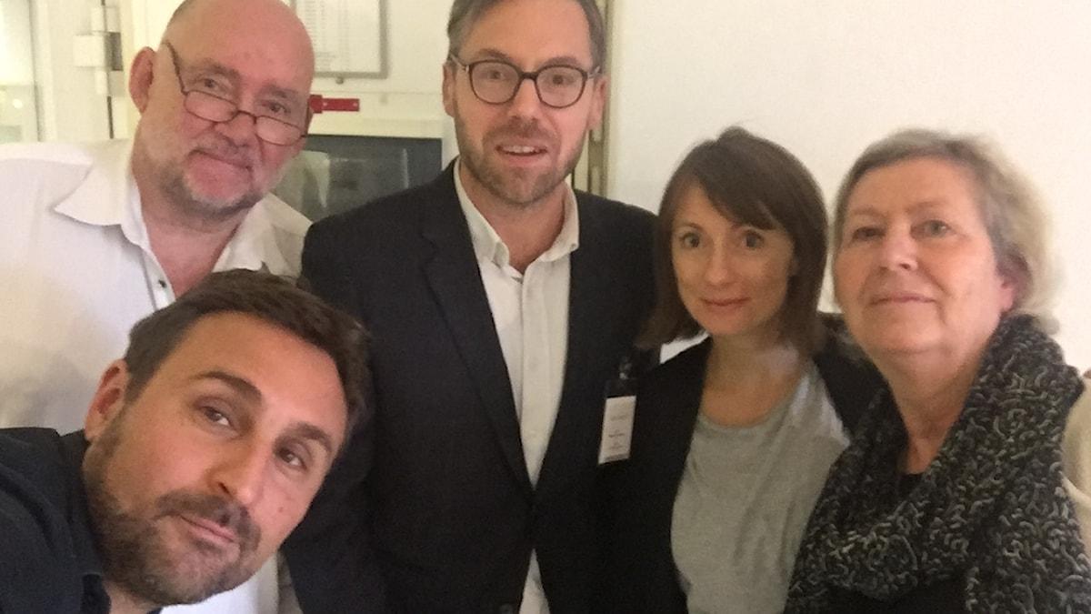 Johar Bendjelloul, Staffan Sonning, Niklas Bremberg, Lisa Bergström och Agneta Ramberg
