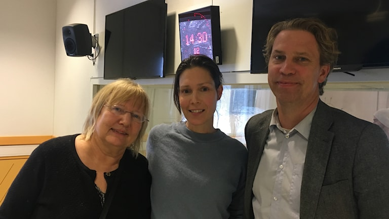 Susanne Palme, Caroline Salzinger och Göran von Sydow