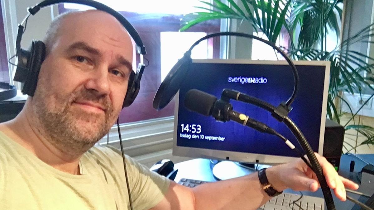 Claes Aronsson, programledare för Europapodden.