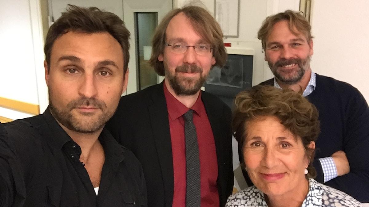 Johar Bendjelloul, Andreas Johansson Heinö, Alice Petrén och Patrik Holmström