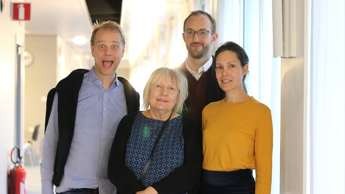 Kristian Åström, Susanne Palme, Caroline Salzinger och Thomas Sommerer.