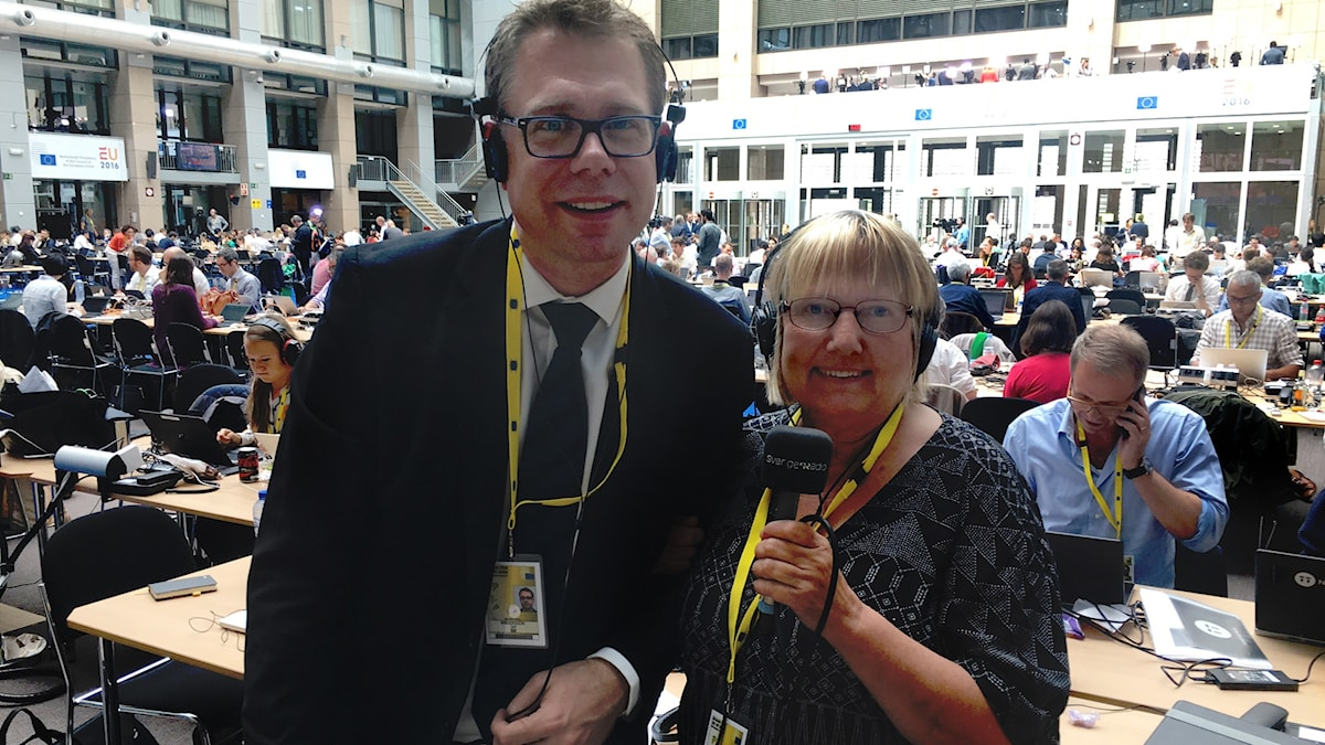 Jan Andersson och Susanne Palme