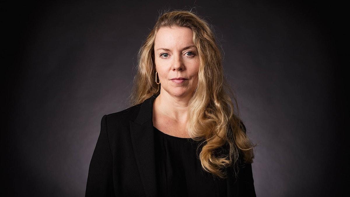 Ci Holmgren, programledare EU-podden