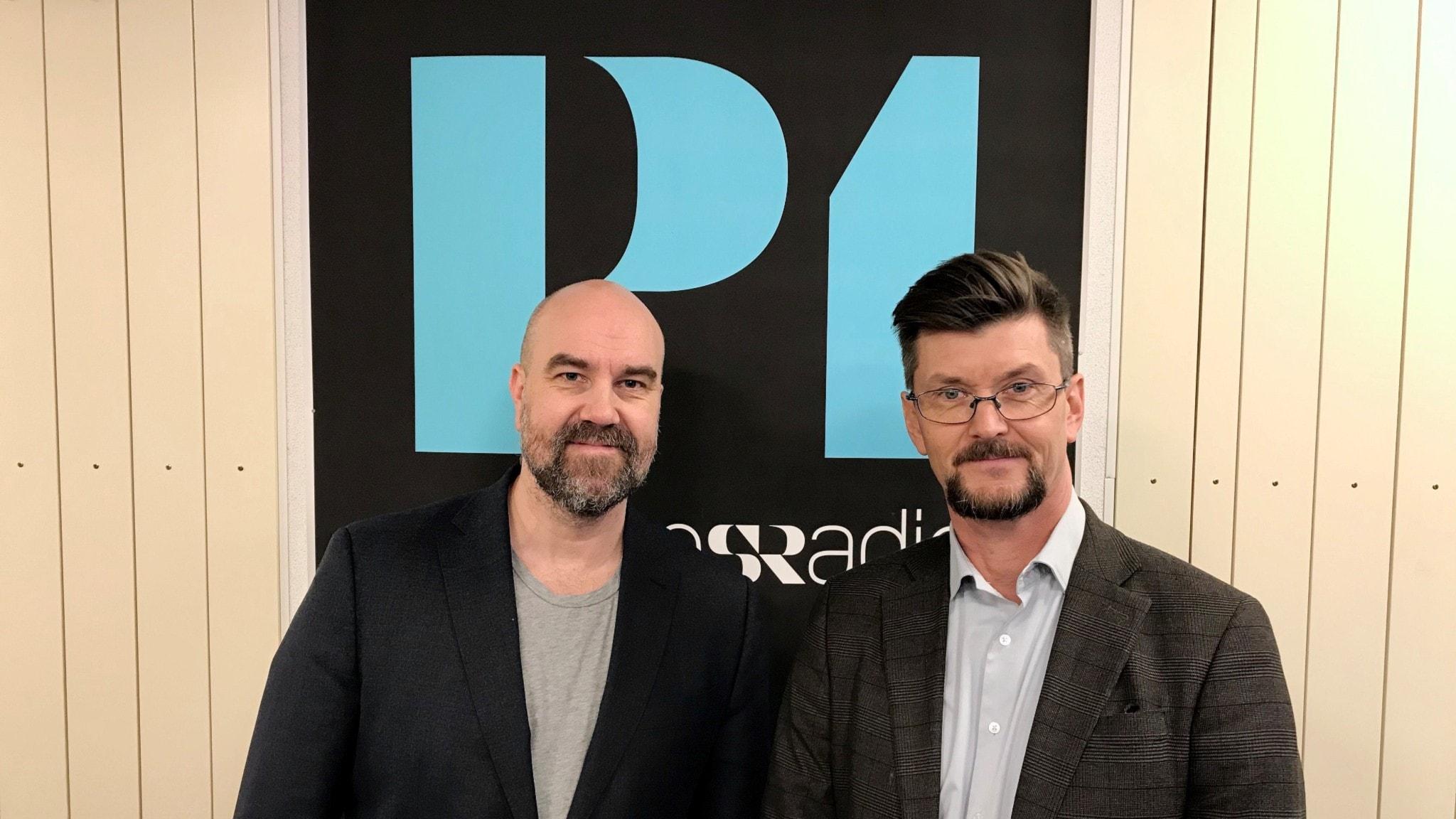 Claes Aronsson och Paul Levin.