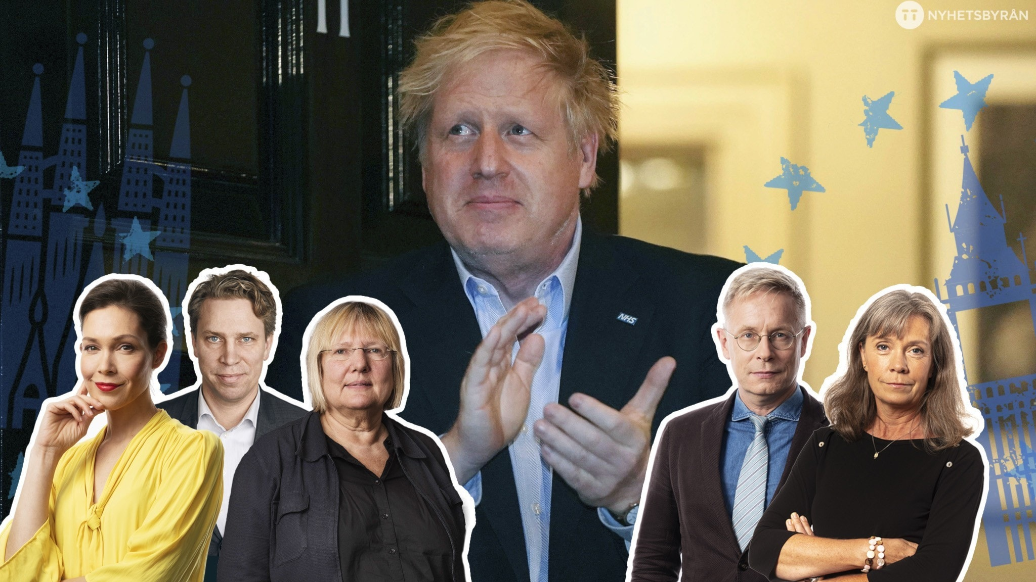 Boris Johnson vårdas på intensiven för covid-19.