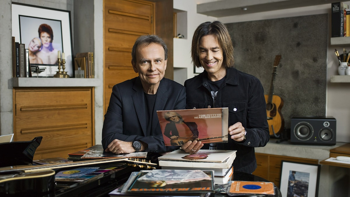 Sven Lindström och Per Gessle.