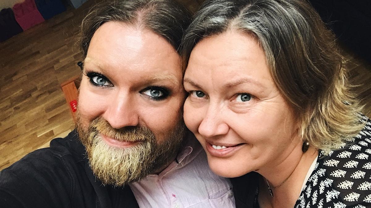 Rickard Söderberg och Yvonne Helander