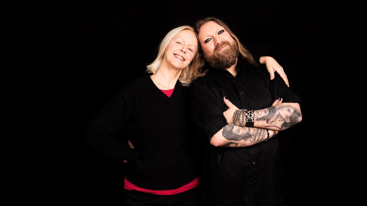 Anne Sofie von Otter och Rickard Söderberg