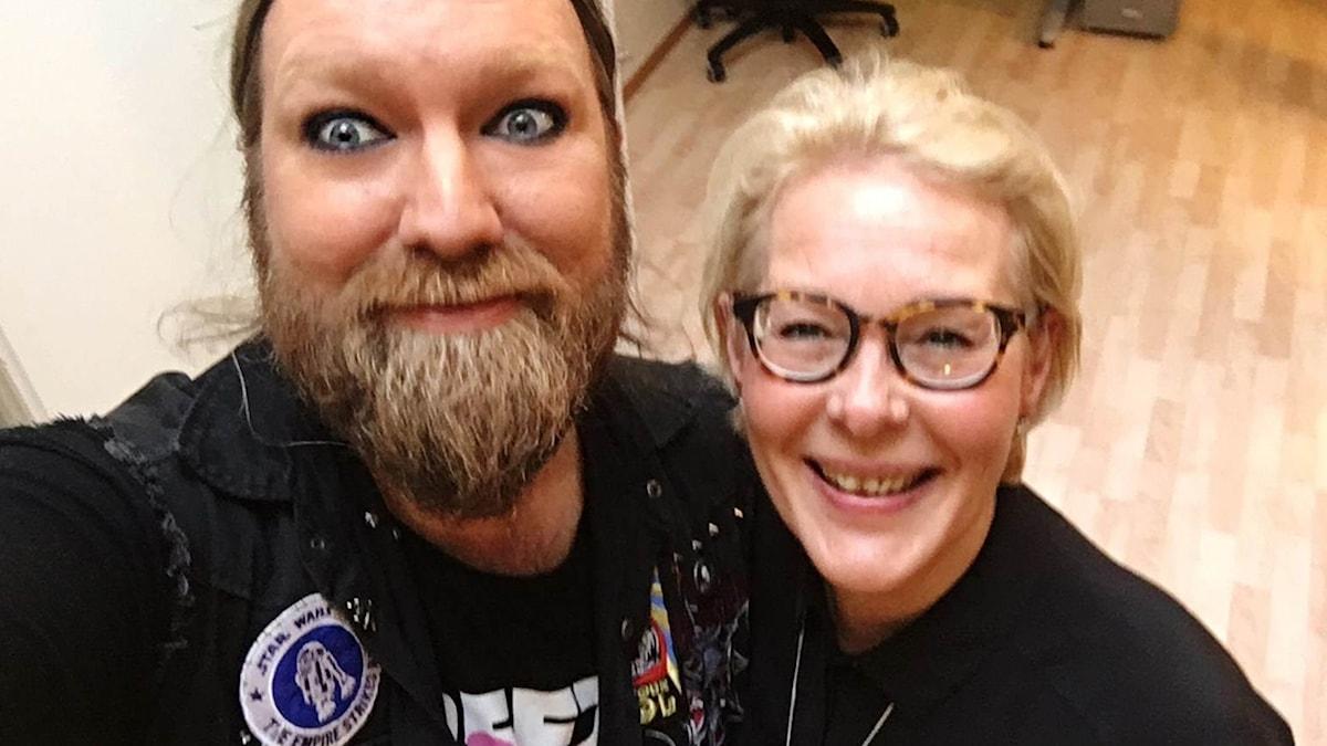 Rickard Söderberg och Birgitta Svendén