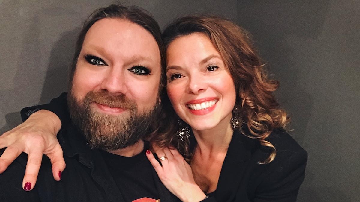 Rickard Söderberg och Katija Dragojevic