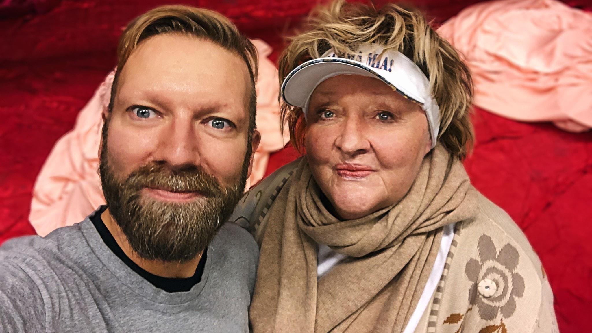 Rickard Söderberg och Marianne Mörck
