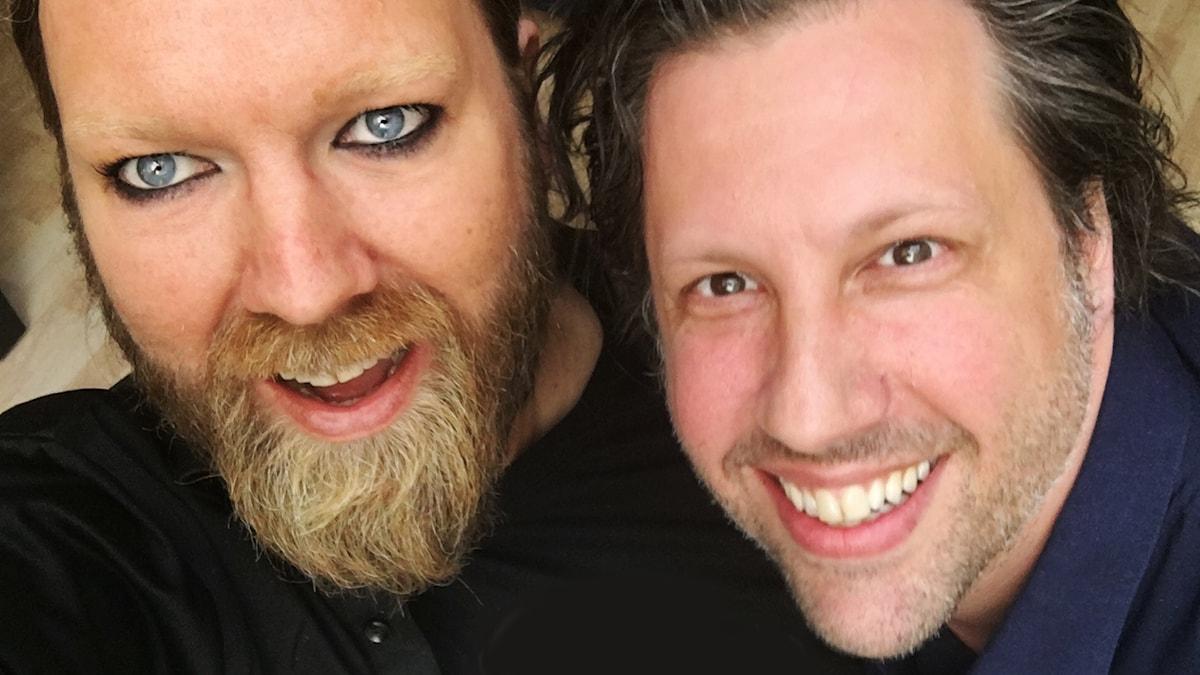 Rickard Söderberg och Johannes Nebel