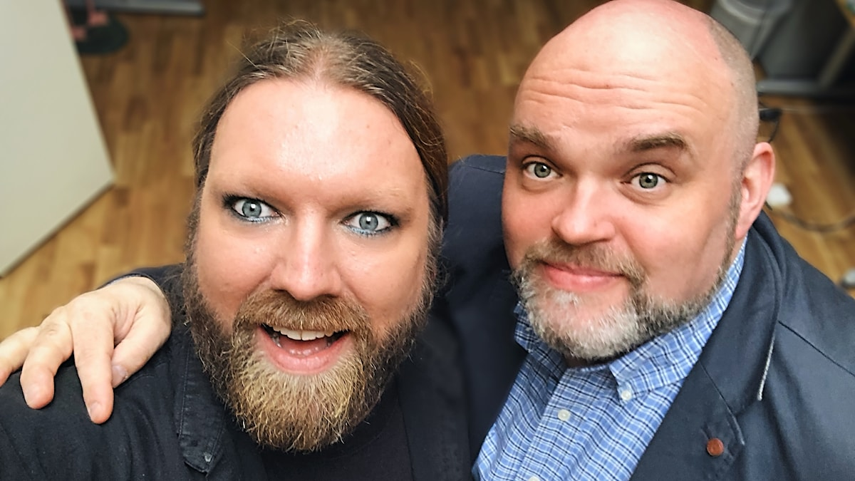 Rickard Söderberg och Fredrik Zetterström