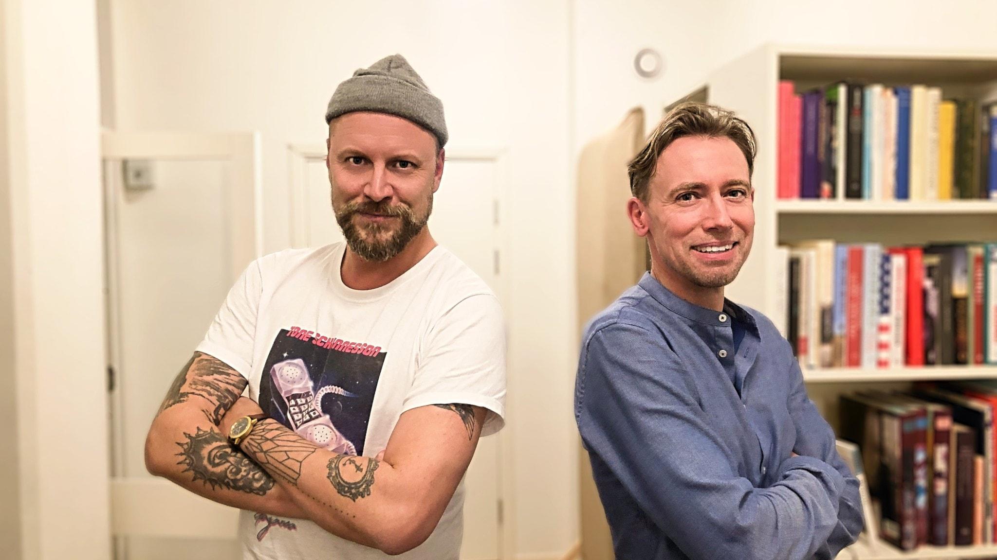 Hans Kristian Duran och Jonas Samuelsson