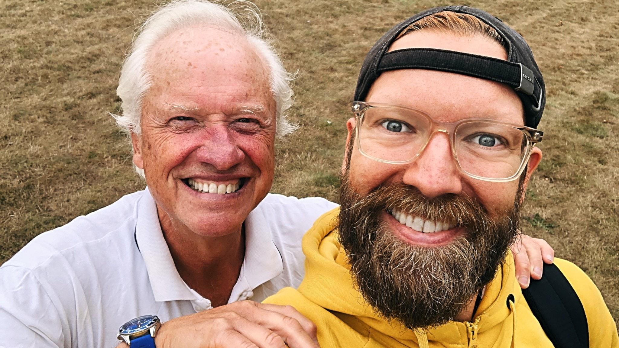 Loa Falkman och Rickard Söderberg