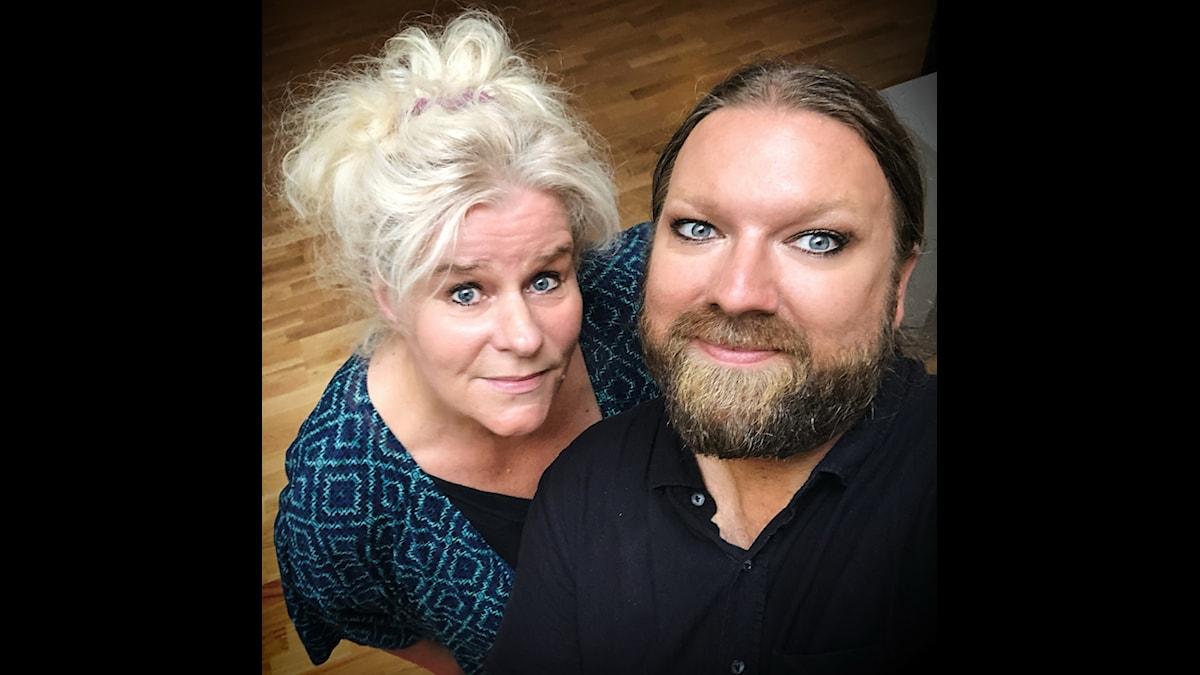 Majsan Dahling och Rickard Söderberg