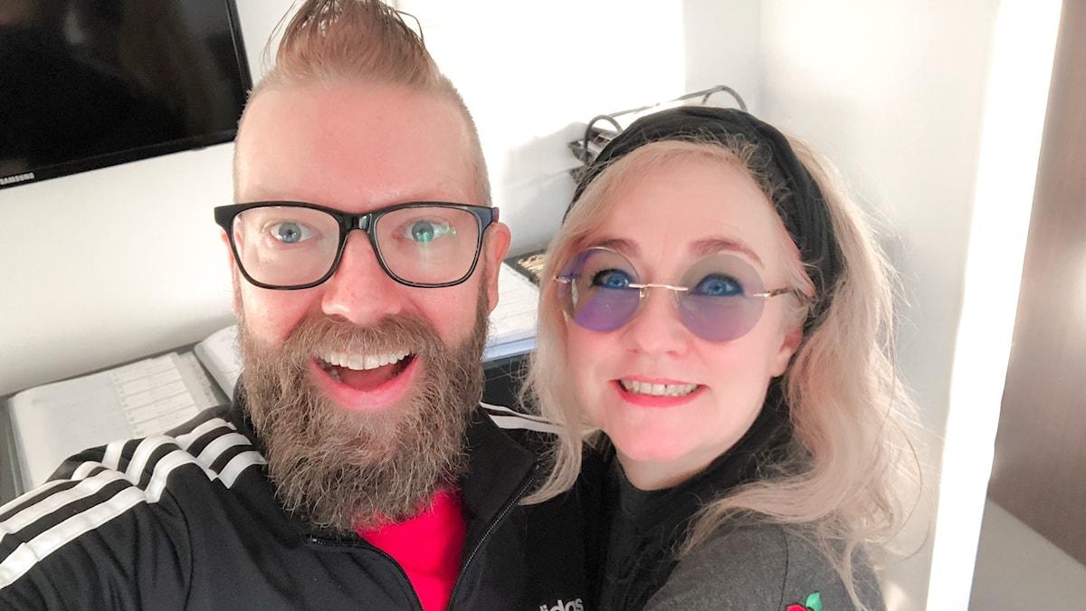 Rickard Söderberg och Catarina Ek