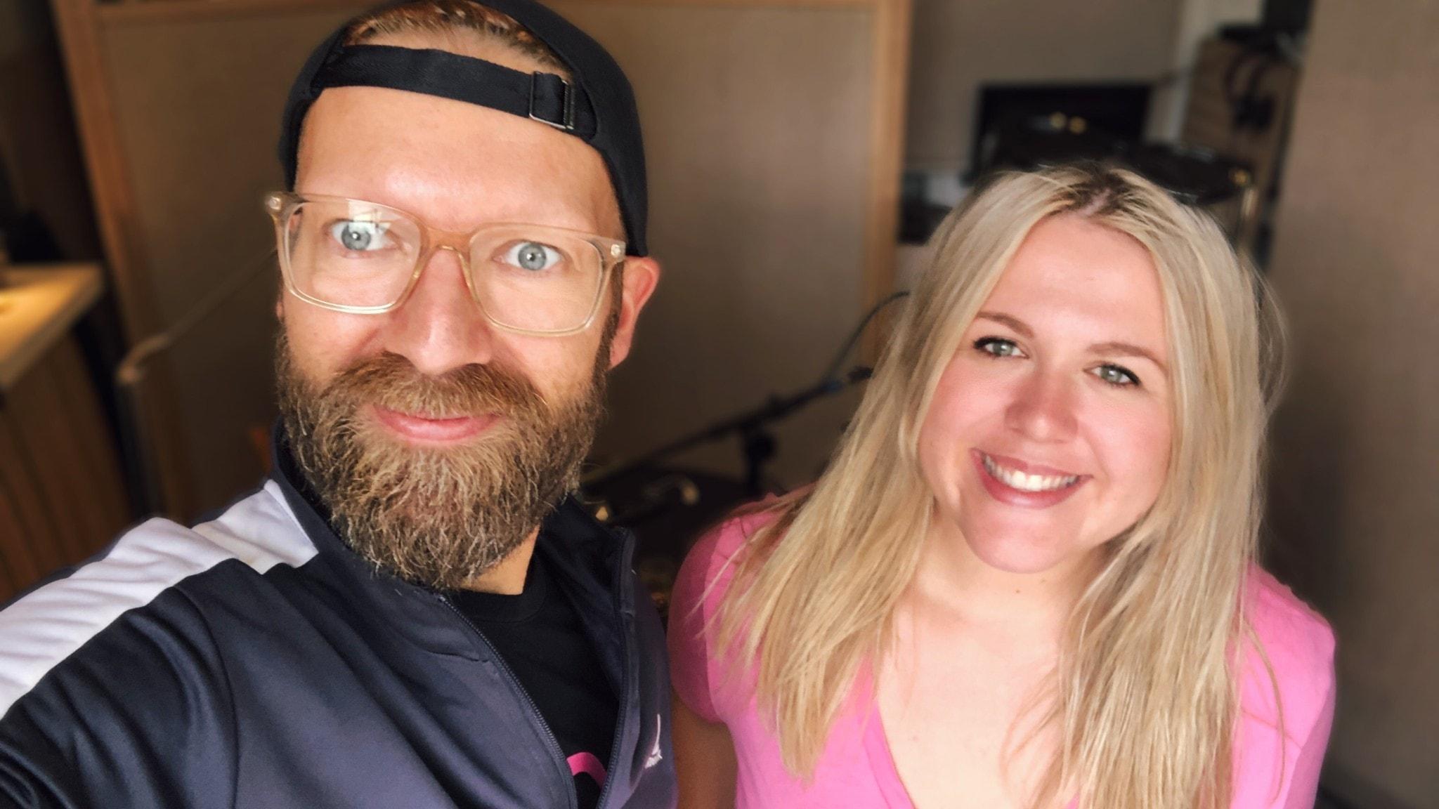 Rickard Söderberg och Christina Nilsson