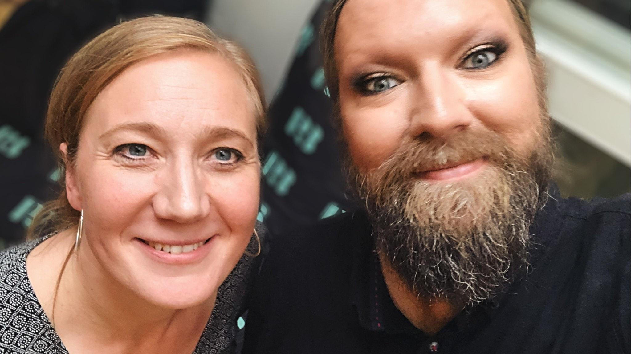 Ditte Hammar och Rickard Söderberg