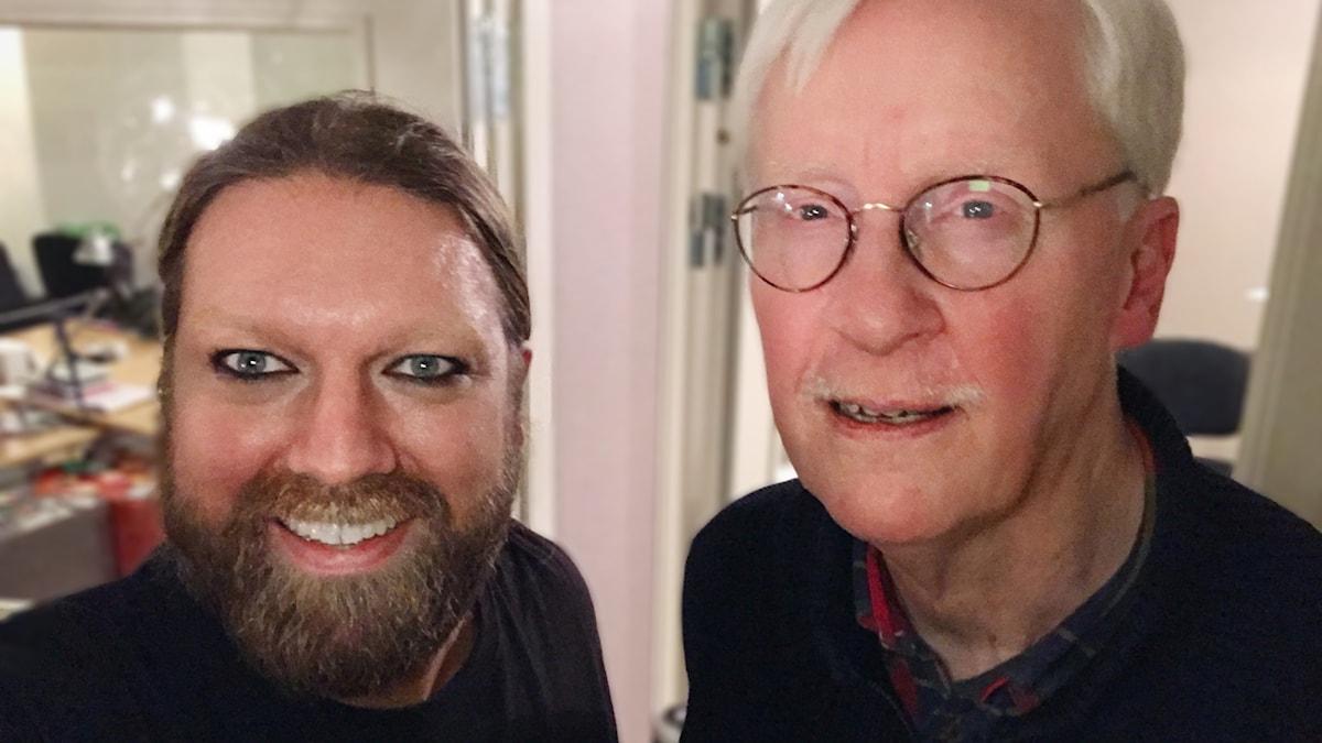 Rickard Söderberg och Stefan Johansson