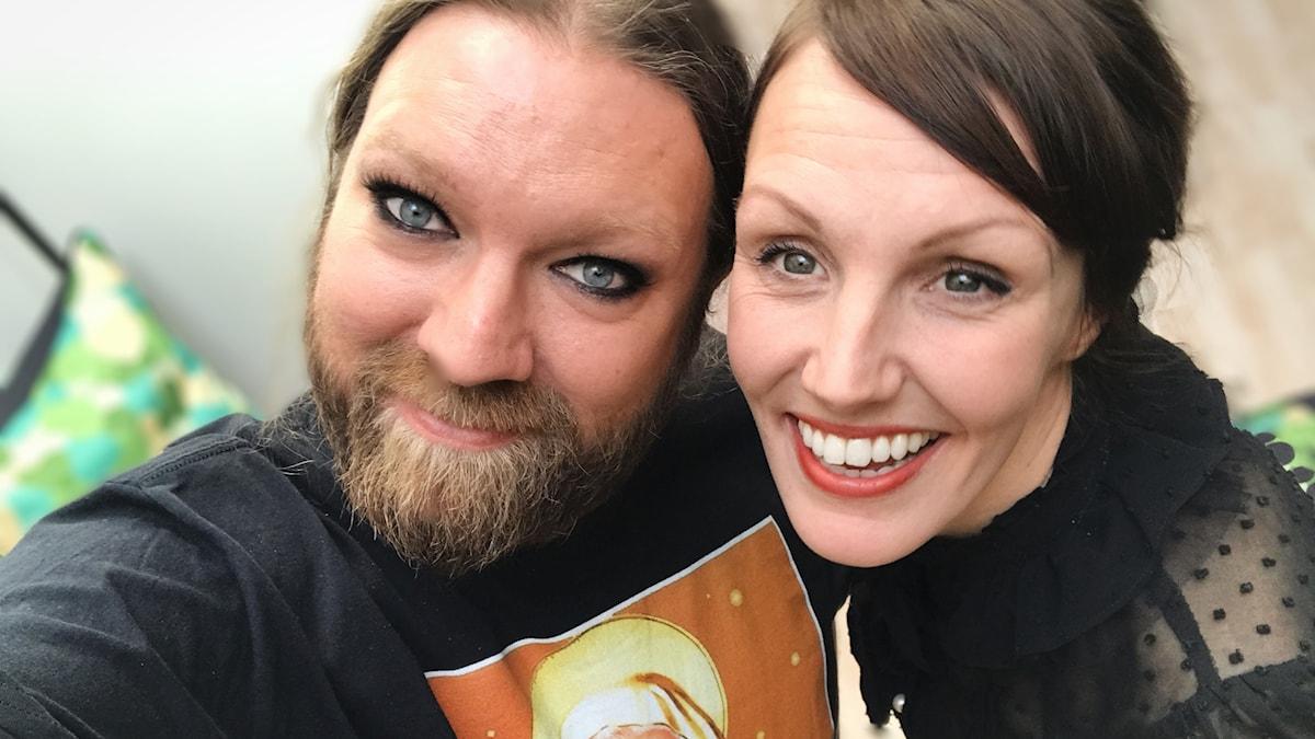 Rickard Söderberg och Ella Petersson