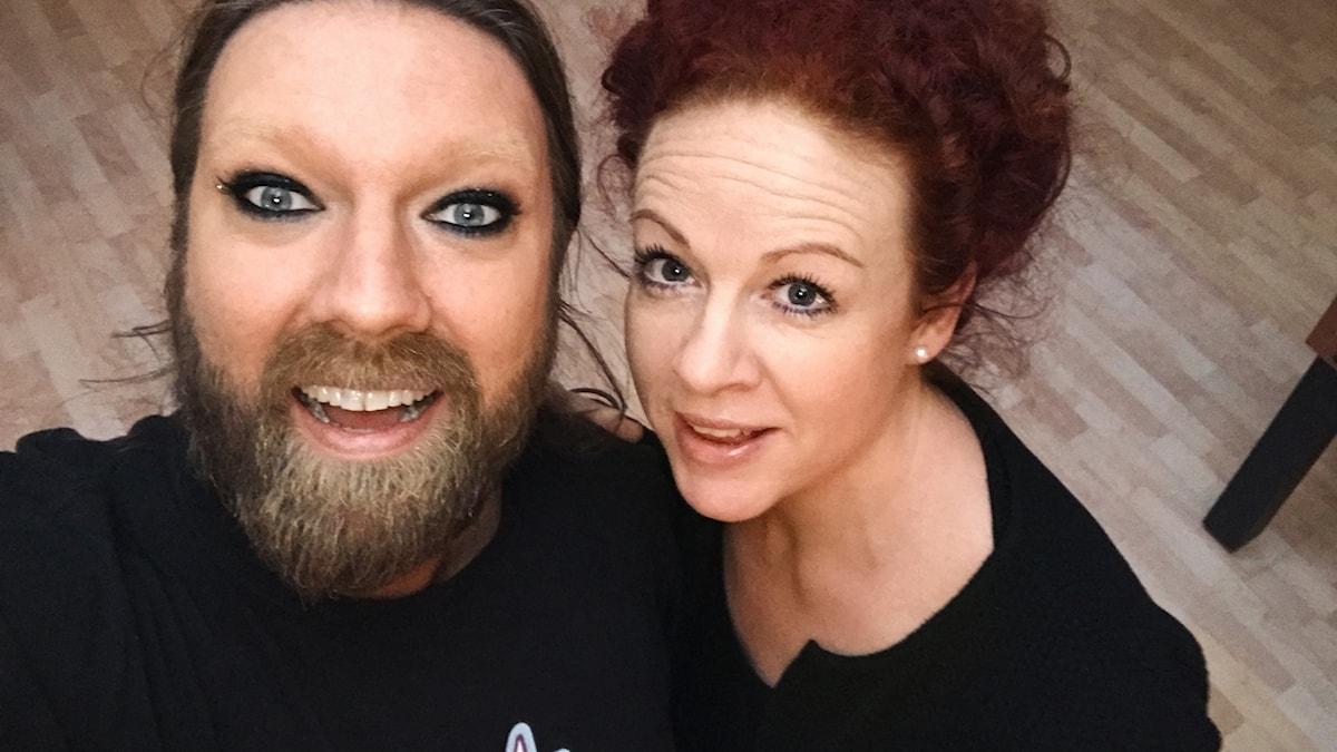 Rickard Söderberg och Matilda Paulsson
