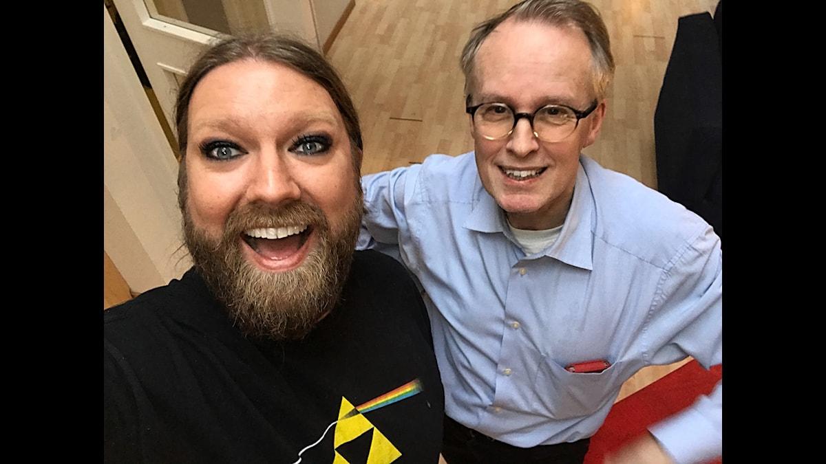 Rickard Söderberg och Eddie Persson