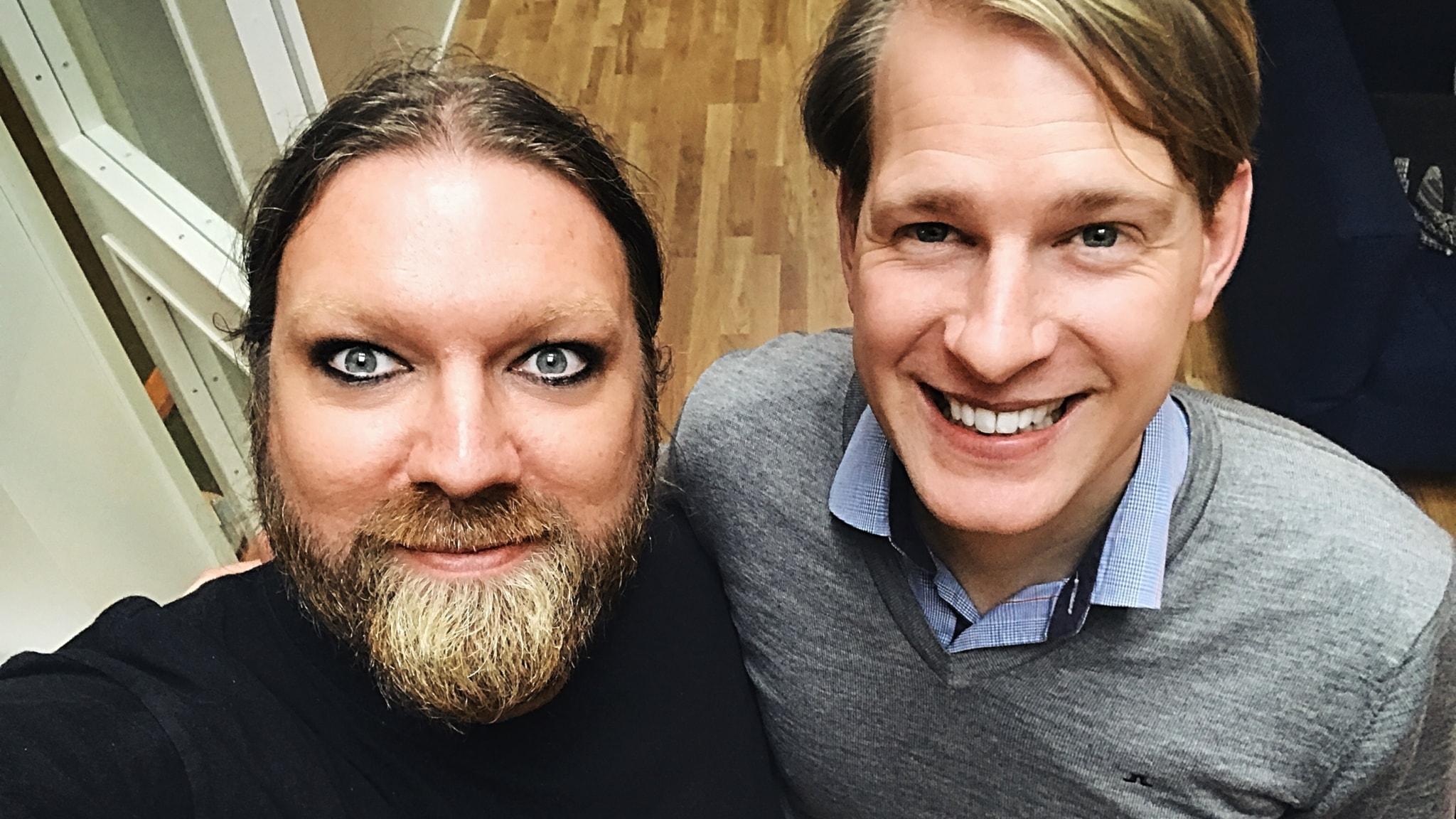 På besök i operaorkesterns dike med gäst Magnus Wretblad
