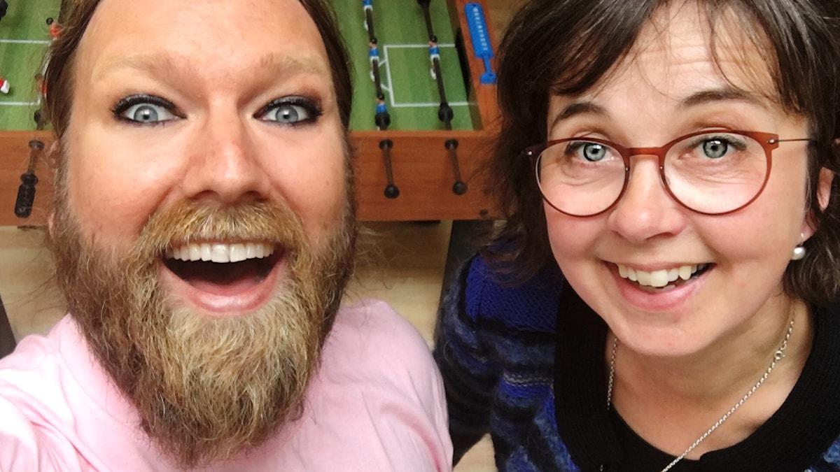 Rickard Söderberg och Gunilla Brodrej