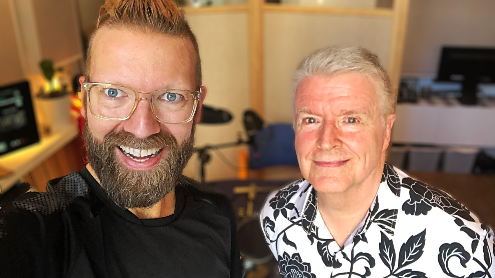 Rickard Söderberg och Lars Walldov