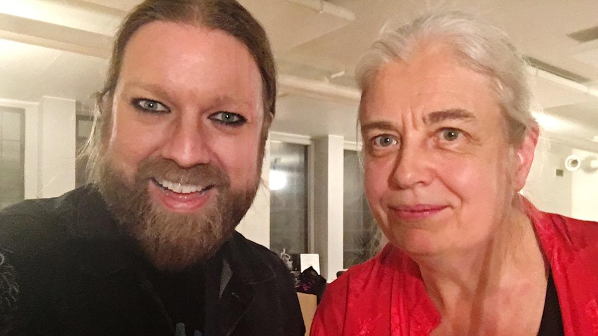 Rickard Söderberg och Elisabet Ljungar
