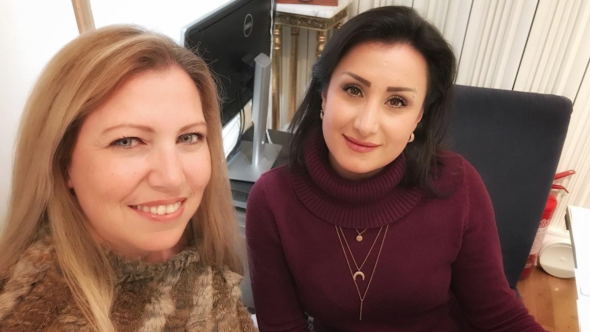 Rohida Almimas Klaff o Rowa Alkhatib Foto Helene Almqvist
