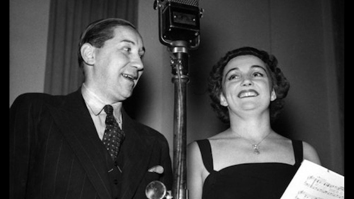 Ulla Billquist och Hilmer Borgeling
