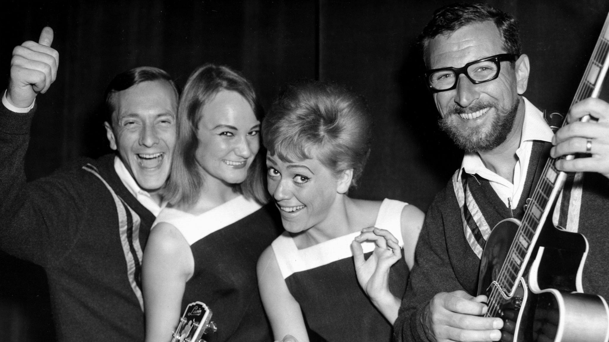 Family Four låg på Svensktoppen 1966