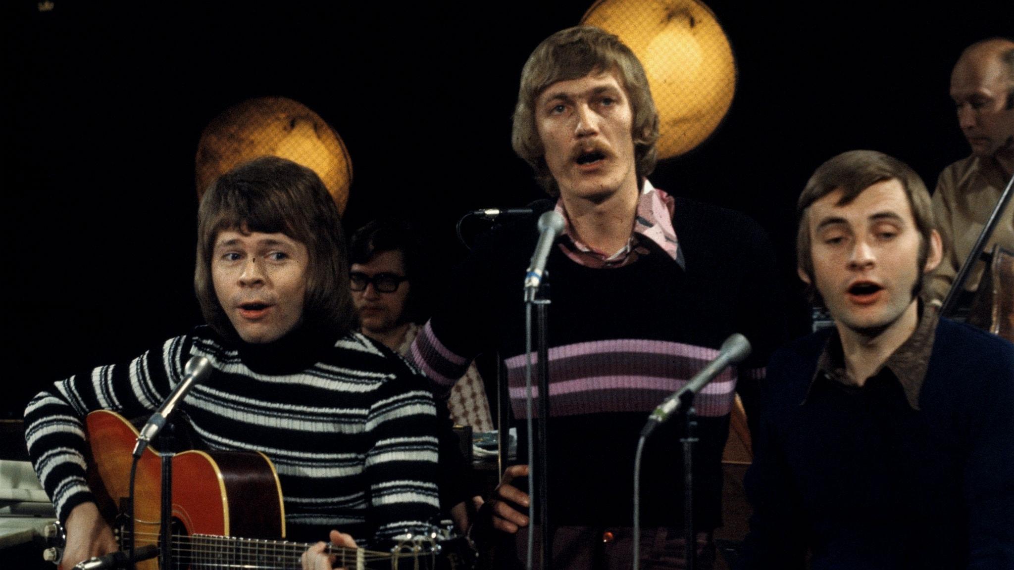 Hootenanny Singers hade två låtar på Svensktoppen i januari 1965