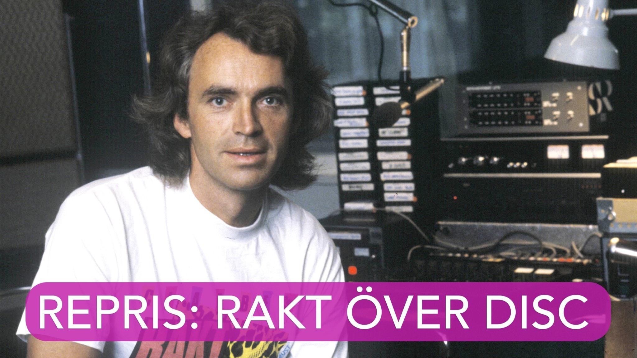 """P4 Plus Favoritrepris Rakt över disc med Claes """"Clabbe"""" af Geijerstam"""