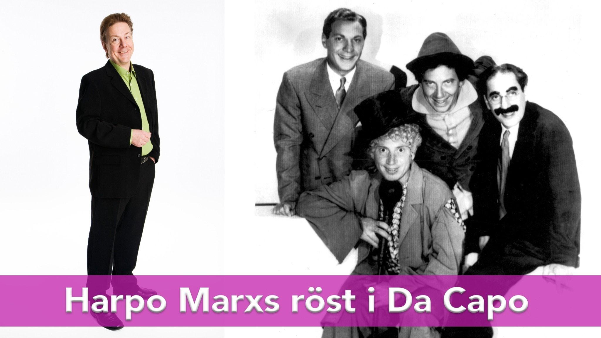 Anders Eldeman och bröderna Marx
