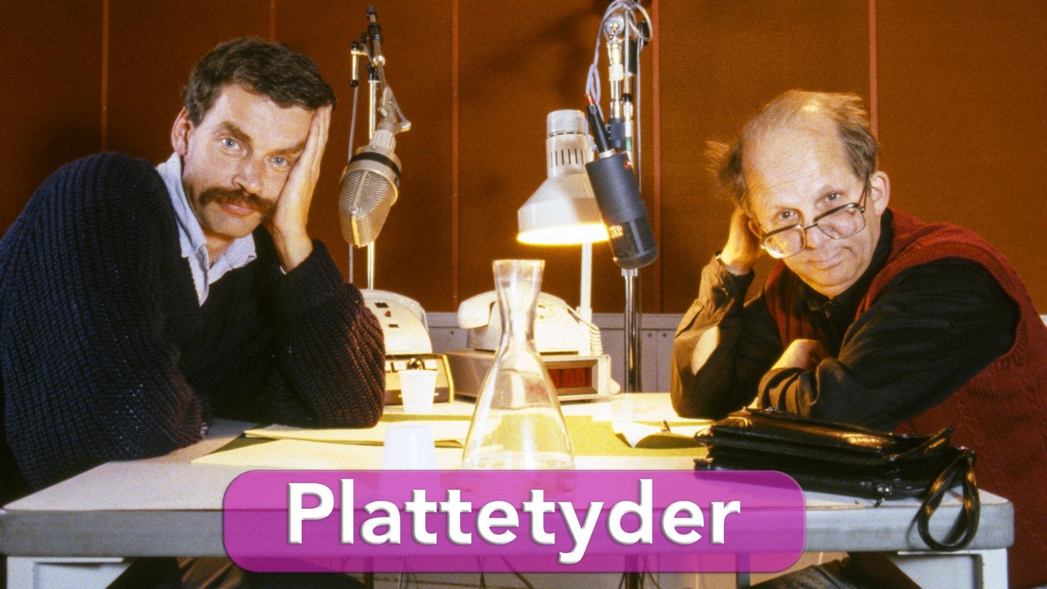 Önskerepris i P4 Plus: Plattetyder med Kjell Swanberg och Bengt Wittström