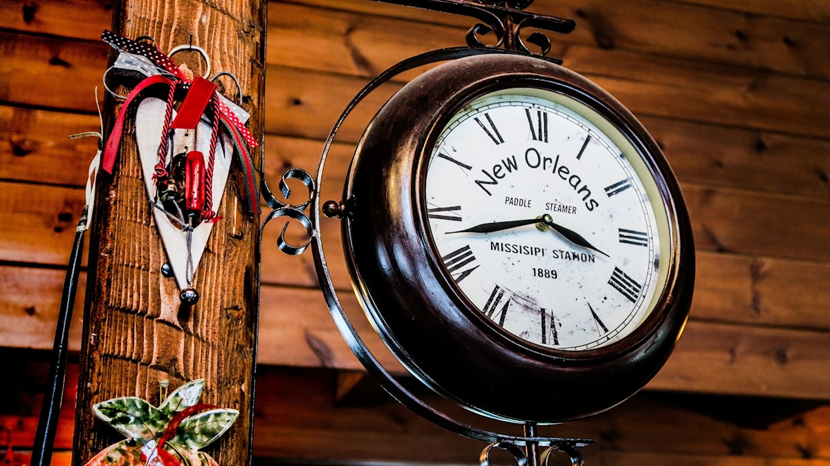 New Orleans klockan