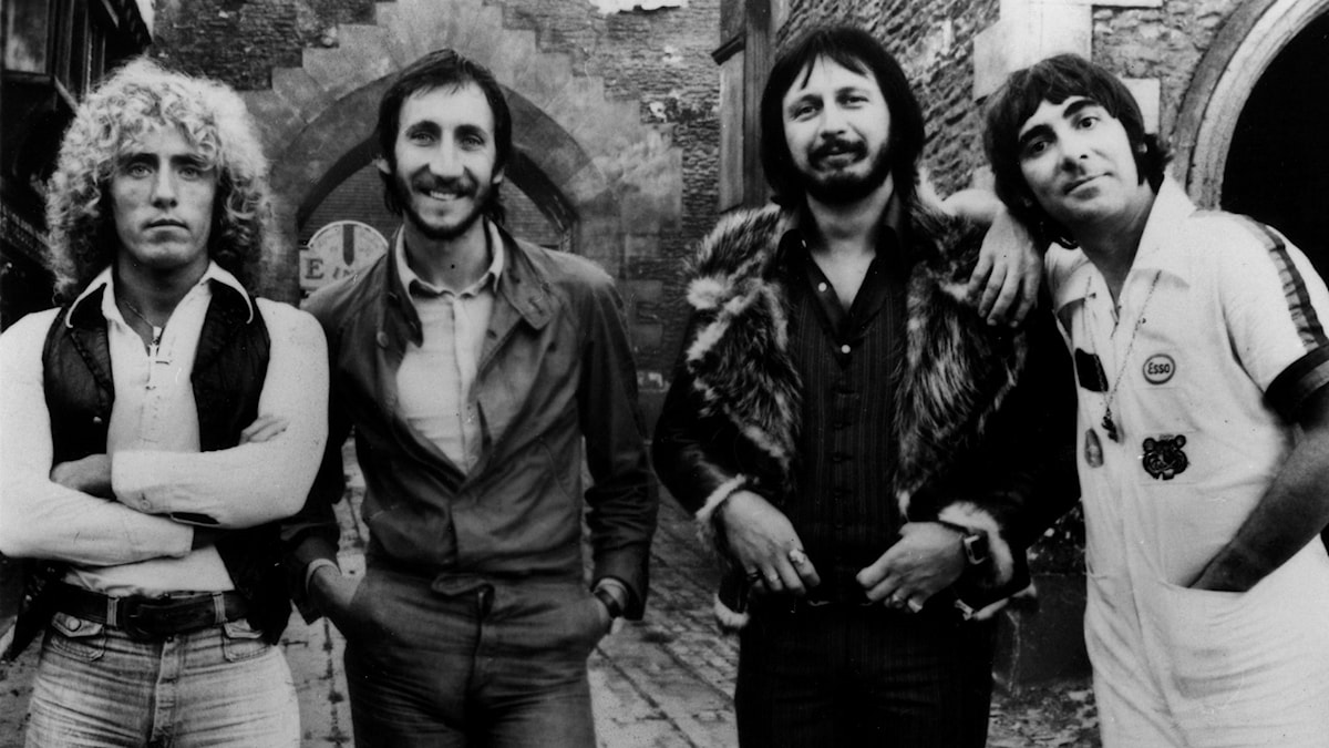 Roger Daltrey, Pete Townshend, John Entwhistle and Keith Moon i The Who