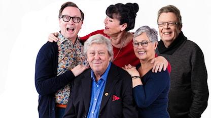 Programledare P4 Plus: Claes-Johan Larsson, Ulf Elfving, Lisa Syrén, Marika Rennerfelt, Anders Klintevall