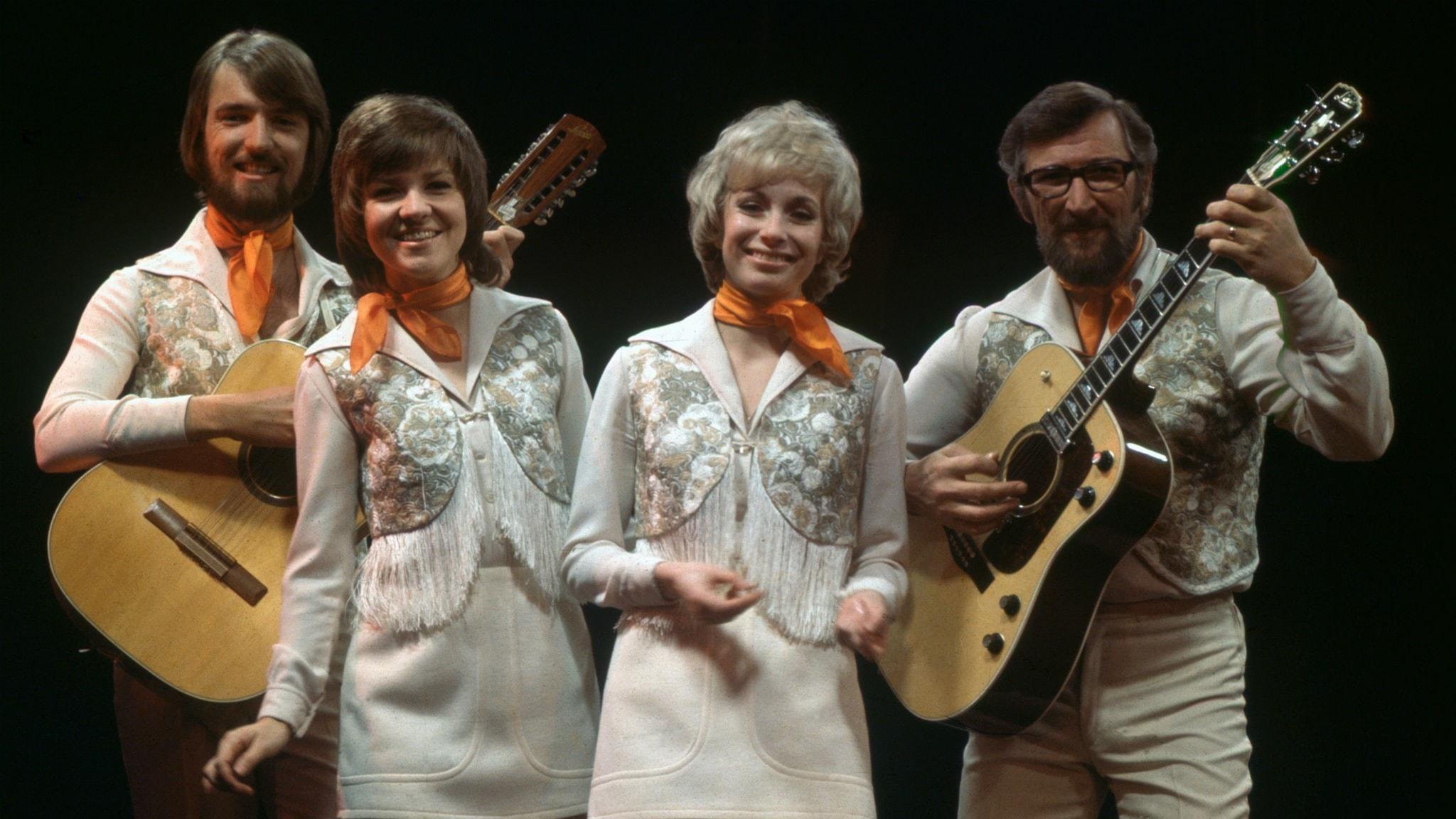 1971 är ett stort hitår för Family Four på Svensktoppen