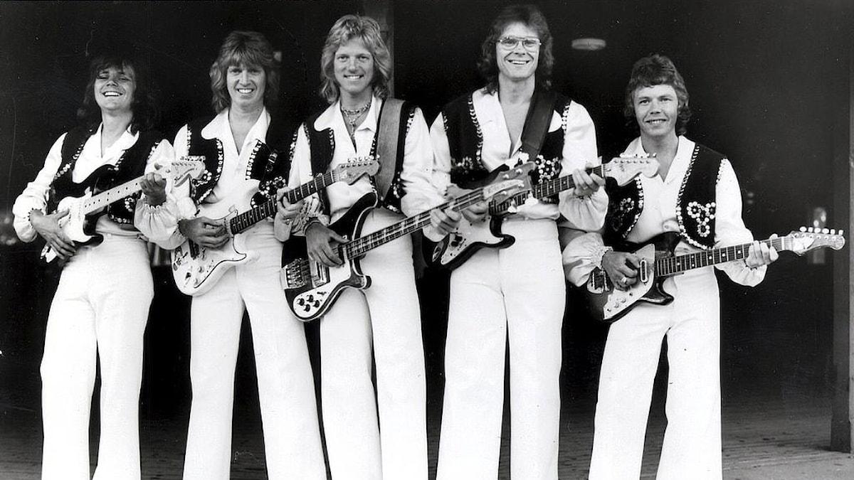 STOCKOLM 1975 - Dansbandet Flamingokvintetten