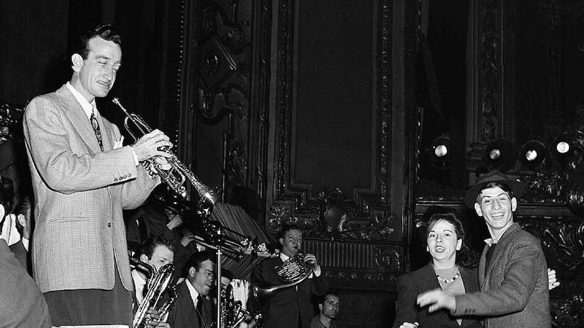 Harry James ledare av jazzorkestern - 5 juli 1943
