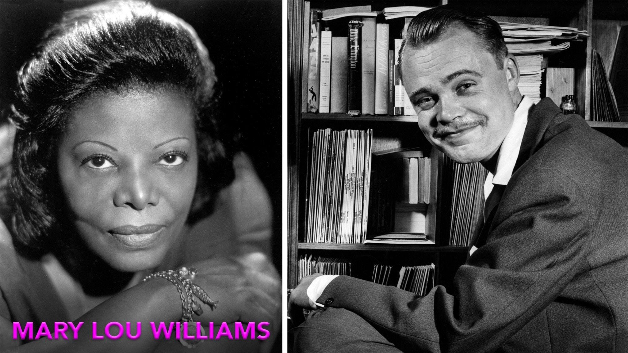 Mary Lou Williams och Leif Anderson